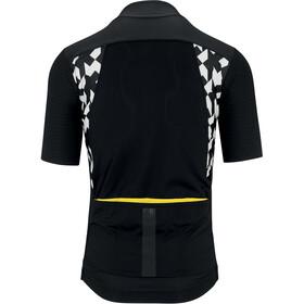 ASSOS Equipe RS Aero Lente-/Herfst Jersey Korte Mouwen Heren, zwart/geel